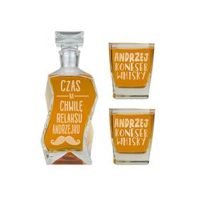 Karafka i 2 szklanki dla Chłopaka 12