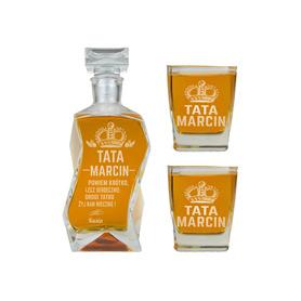 Karafka i 2 szklanki dla Taty 08
