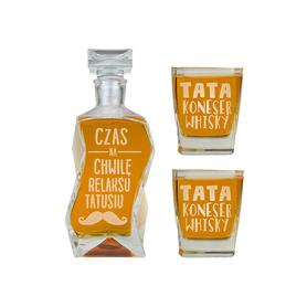 Karafka i 2 szklanki dla Taty 12