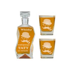 Karafka i 2 szklanki dla Taty 15