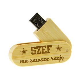 Pendrive drewniany dla Szefa 04