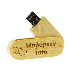 Pendrive drewniany dla Taty 02